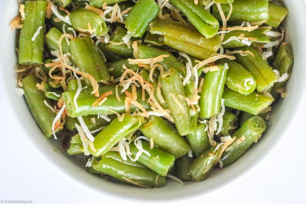 Coconut Green Beans