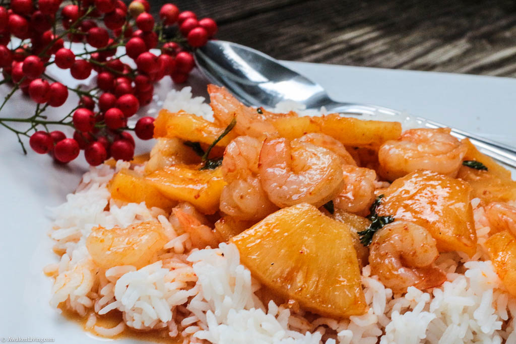 Asian Shrimp and Pineapple Curry