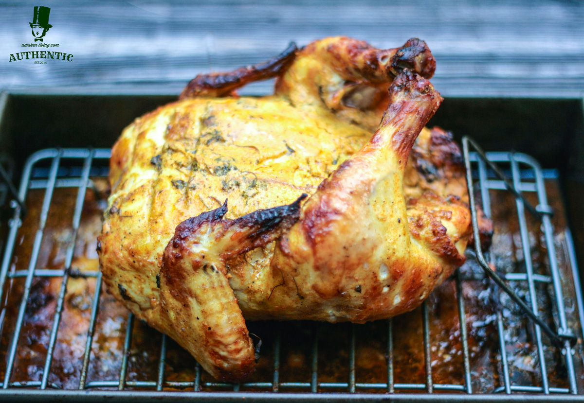 Thanksgiving Tandoori Chicken